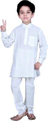 KABEER Boy's Kurta and Pyjama Set