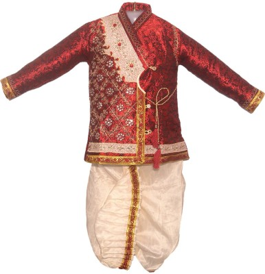 Vastramay Baby Boy's Kurta and Dhoti Pant Set