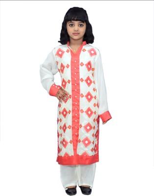 Haya Girl's Kurta and Pyjama Set