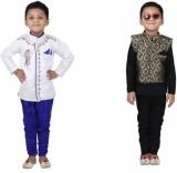 Crazeis Boys Kurta, Waistcoat and Pyjama...