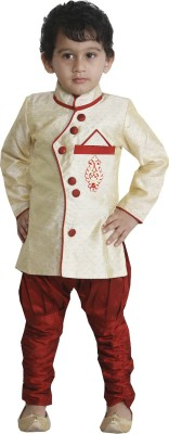 JBN Creation Boy's Kurta and Pyjama Set