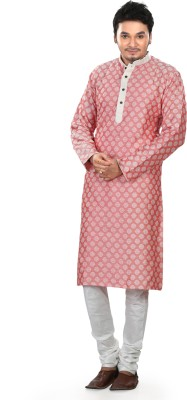 Prapti Men's Kurta and Churidar Set