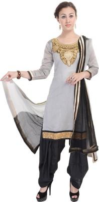 Nisba Fashions Embroidered Kurti & Salwar