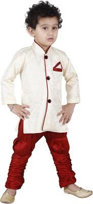 JBN Creation Boy's Kurta and Pyjama Set