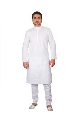 Ethiic Men's Kurta and Pyjama Set