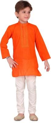 V Kids Boy's Kurta and Pyjama Set