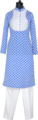 Ms Design Women's Kurta and Pyjama Set