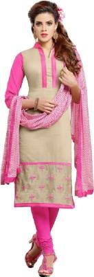Sheryl Trendz Women's Churidar and Dupatta Set