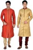 Sanwara Men's Kurta and Churidar Set