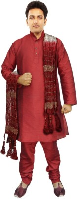 JBN Creation Men's Kurti, Patiala and Dupatta Set