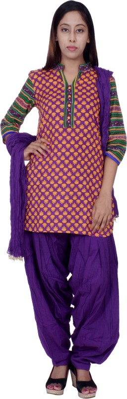 Rama Women's Kurti, Patiala and Dupatta Set