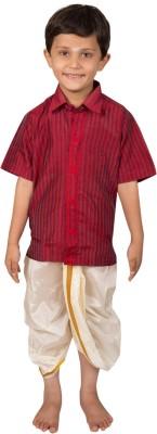 Thangamagan Baby Boy's Shirt & Dhoti Set