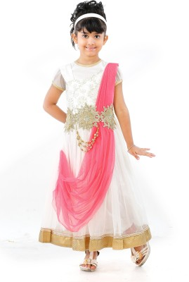 JBN Creation Girl's Kurti, Legging and Dupatta Set