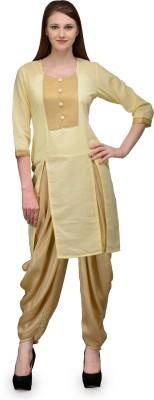 Natty India Women's Dhoti & Kurta Set