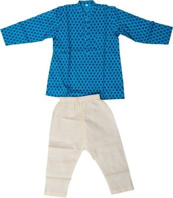 D&D Girl's Kurta and Pyjama Set