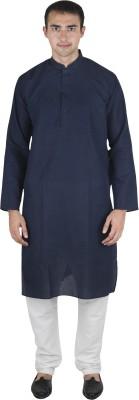 Linen Cover Men's Kurta and Pyjama Set
