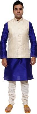 ethiic Sleeveless Printed Men's Jacket