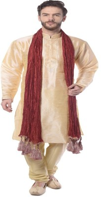 Mohanlal Sons Men's Kurta and Churidar Set