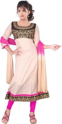 Sheryl Trendz Women's Kurta, Churidar & Dupatta Set