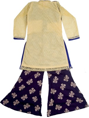 Retaaz Girl's Kurta and Pyjama Set