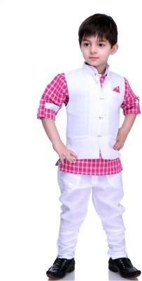 Bad Boys Boy's Kurta, Waistcoat and Pyjama Set