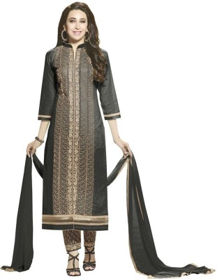 Kali Fashion Cotton Embroidered Salwar Suit Dupatta Material