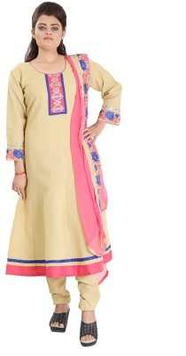 Aarika Women's Kurta, Churidar & Dupatta Set