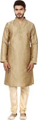 DesiDapper Men's Kurta and Churidar Set