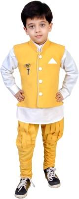 Kabeer Boys Full Sleeve Ethnic Set