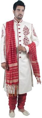 Rajwada Men's Sherwani and Churidar Set