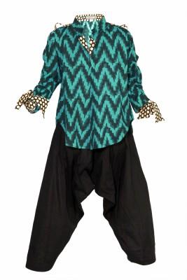 Lil Poppets Boy's Kurta and Pyjama Set