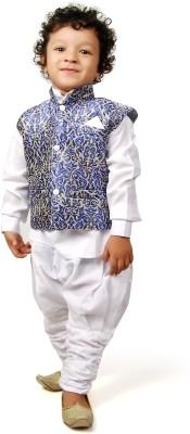 Viaan Retail Boy's Kurta and Pyjama Set
