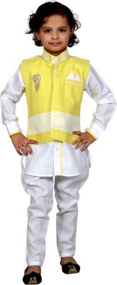 J.D.Creation Boy's Waistcoat and Pyjama Set