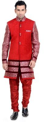 New Looks Men's Sherwani and Churidar Set
