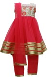 Pogo Girls Churidar and Dupatta Set