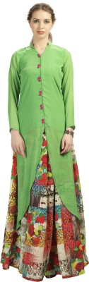 Admyrin Women's Top and Skirt Set at flipkart