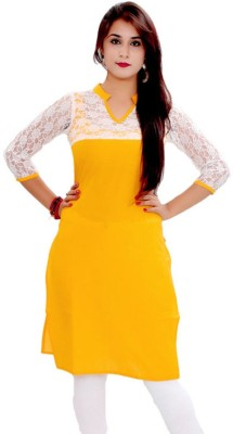 S.B Textiles Casual Solid Women's Kurti
