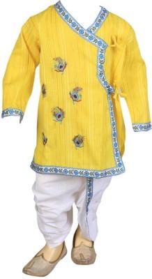 Focil Baby Boy's Kurta and Dhoti Pant Set