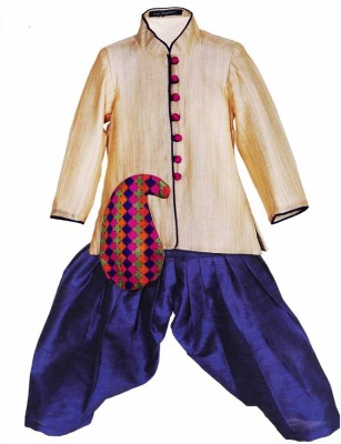Lil Poppets Boy's Sherwani and Churidar Set
