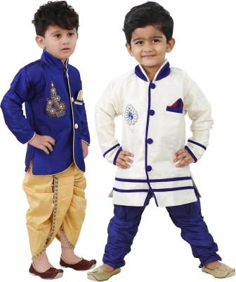 FTCBazar Boy's Kurta and Churidar Set