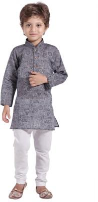 Shree Shubh Boy's Kurta and Pyjama Set