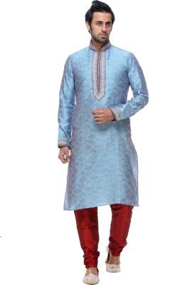 INDIAN POSHAKH Men's Kurta and Churidar Set