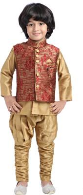 Jeet Baby Boy's Kurta, Waistcoat and Pyjama Set