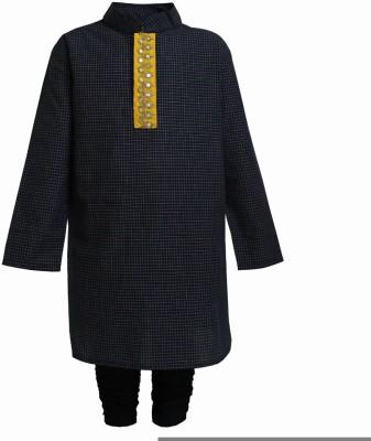A Little Fable Boy's Kurta and Pyjama Set