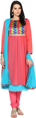 Tulsattva Women's Kurta and Churidar Set