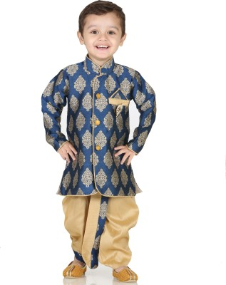 Kishore Dresses Baby Boy's Kurta and Dhoti Pant Set