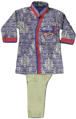 Racso Boy's Sherwani and Churidar Set