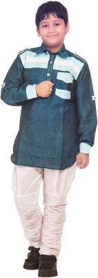 R Ladesir Boy's Sherwani and Churidar Set
