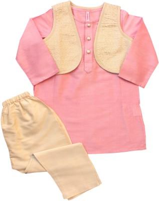 Campana Boy's Kurta and Pyjama Set