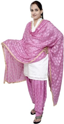 S.K. Ethnic India Women's Patiala and Dupatta Set